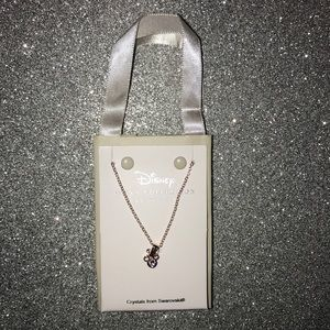 New Disney parks Mickey Mouse gold necklace